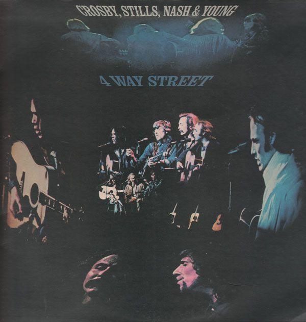 Crosby Still Nash Amp Young 4 Way Street Vinylmail