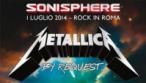 I Metallica a Roma